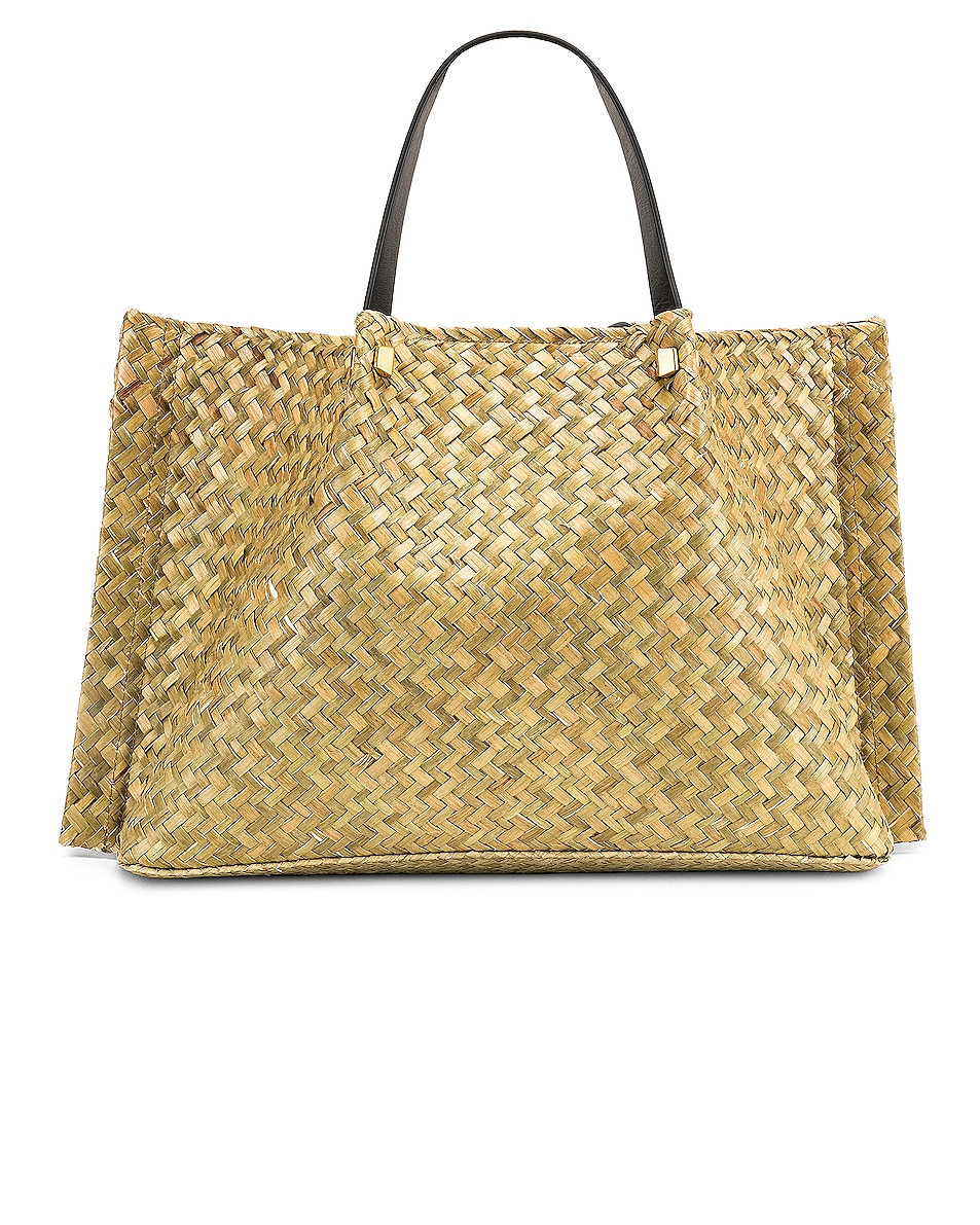 Image 1 of Valentino Go Logo Escape Medium Tote in Natural
