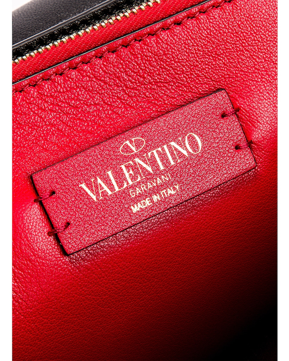 Image 6 of Valentino VRing Medium Shoulder Bag in Rouge