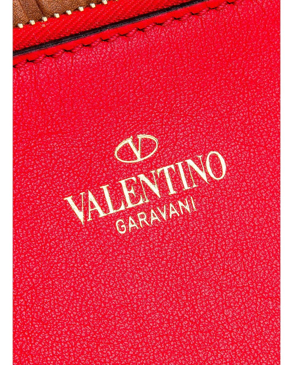 Image 6 of Valentino Go Logo Escape Large Tote in Tan