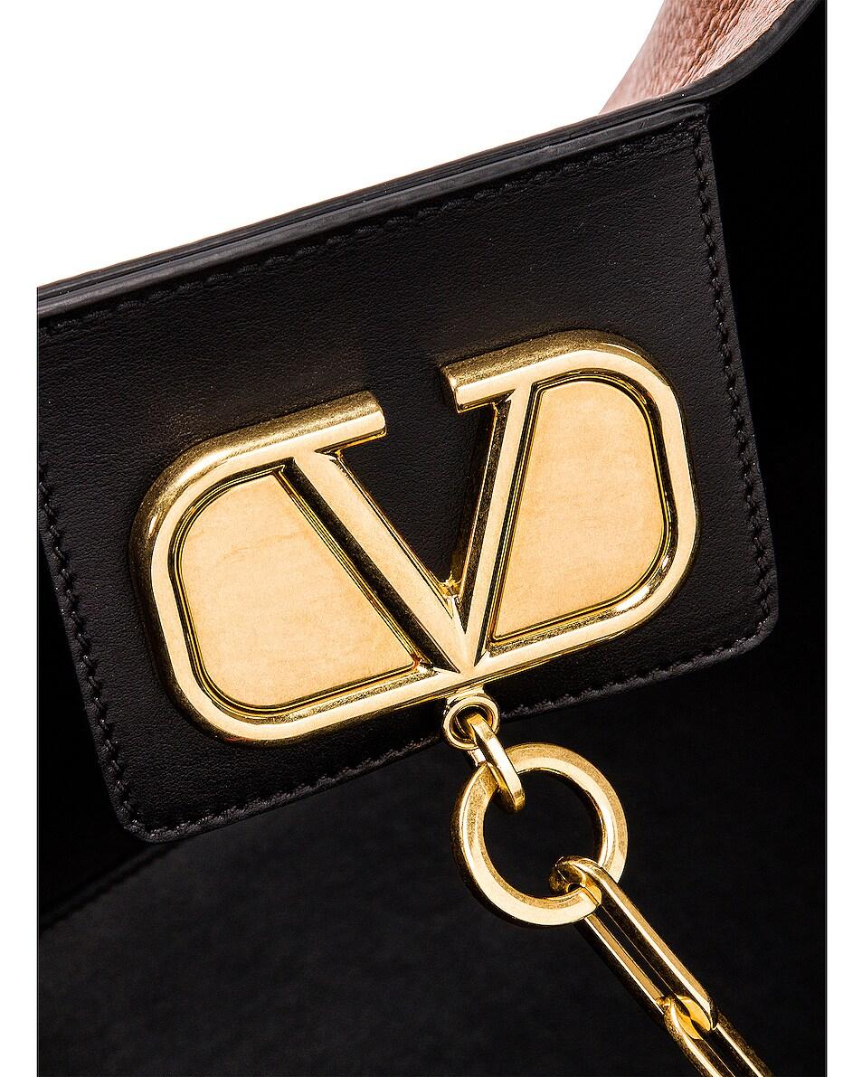 Image 7 of Valentino Go Logo Escape Large Tote in Tan