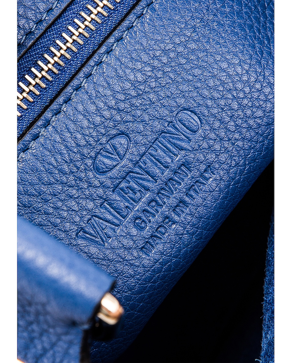 Image 6 of Valentino Rockstud Messenger Bag in Baltique