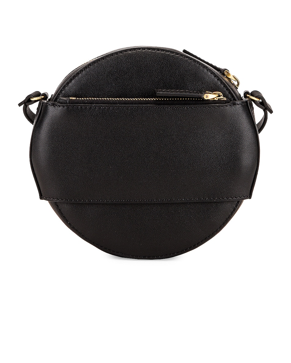 Image 2 of Valentino VLogo Circle Crossbody Bag in Black