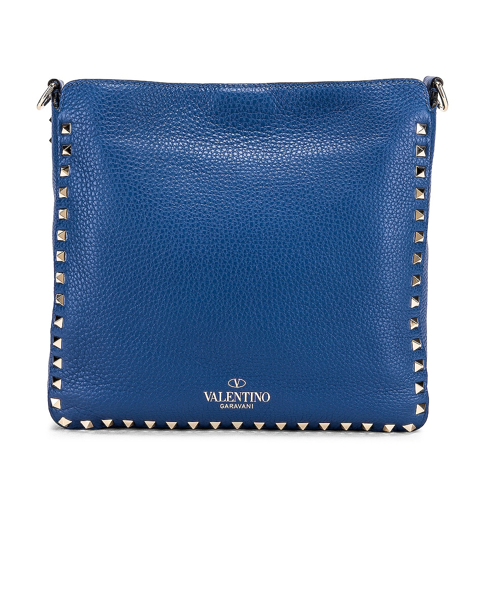 Image 3 of Valentino Rockstud Shoulder Bag in Baltique