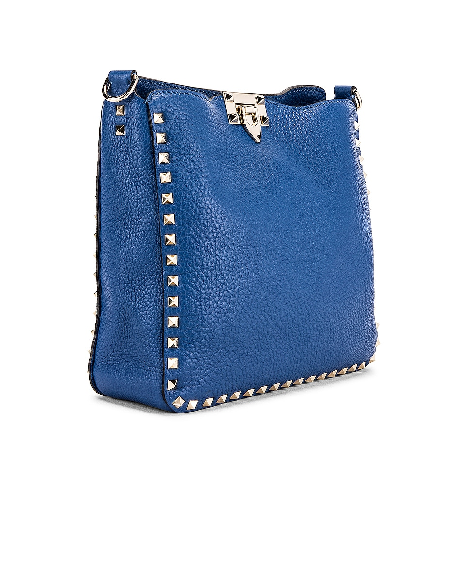 Image 4 of Valentino Rockstud Shoulder Bag in Baltique