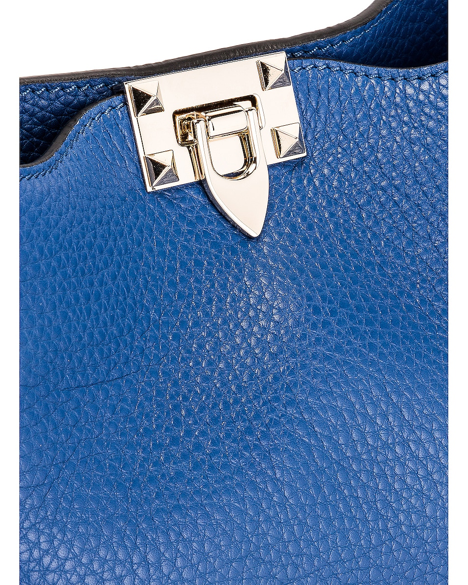 Image 8 of Valentino Rockstud Shoulder Bag in Baltique