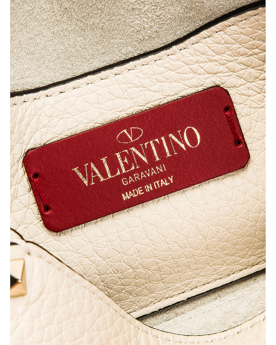 Image 7 of Valentino Rockstud Crossbody Bag in Light Ivory