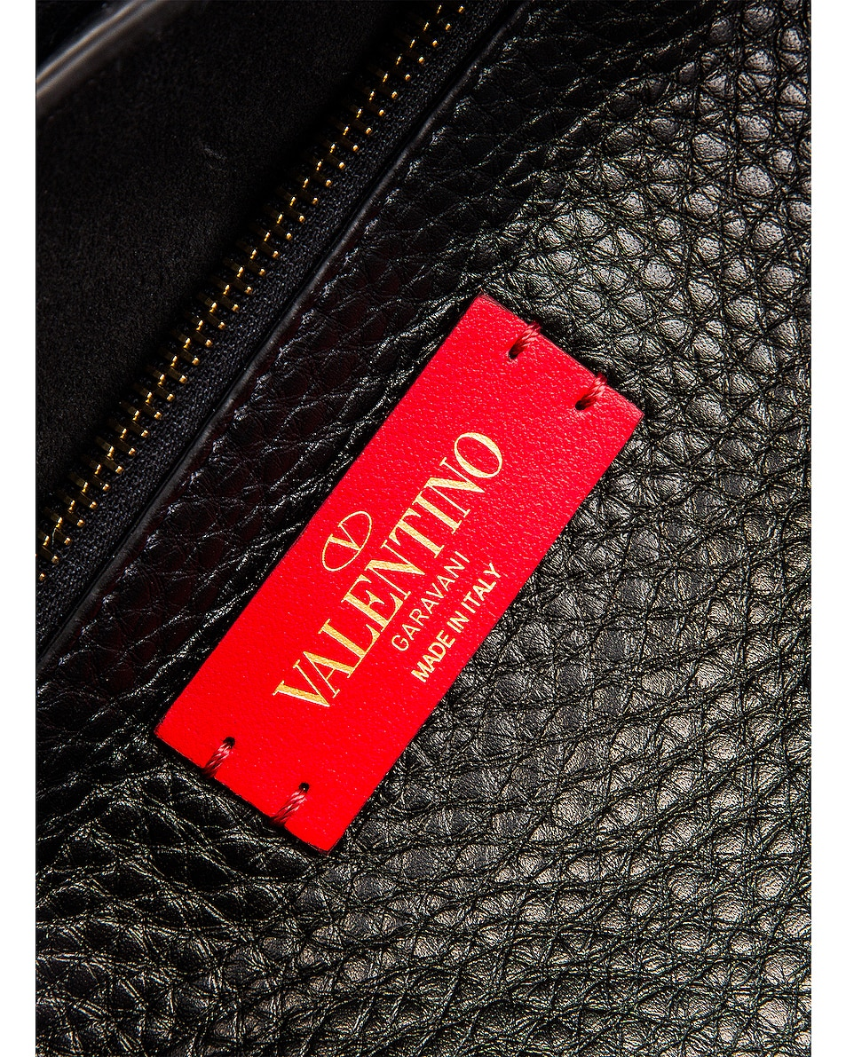 Image 7 of Valentino Rockstud Hype Tote in Black