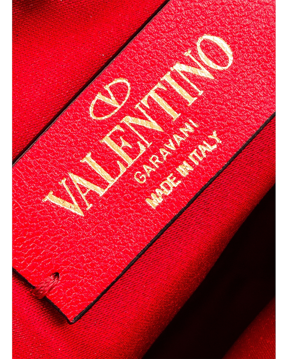 Image 7 of Valentino V Logo Circle Crossbody Bag in Red