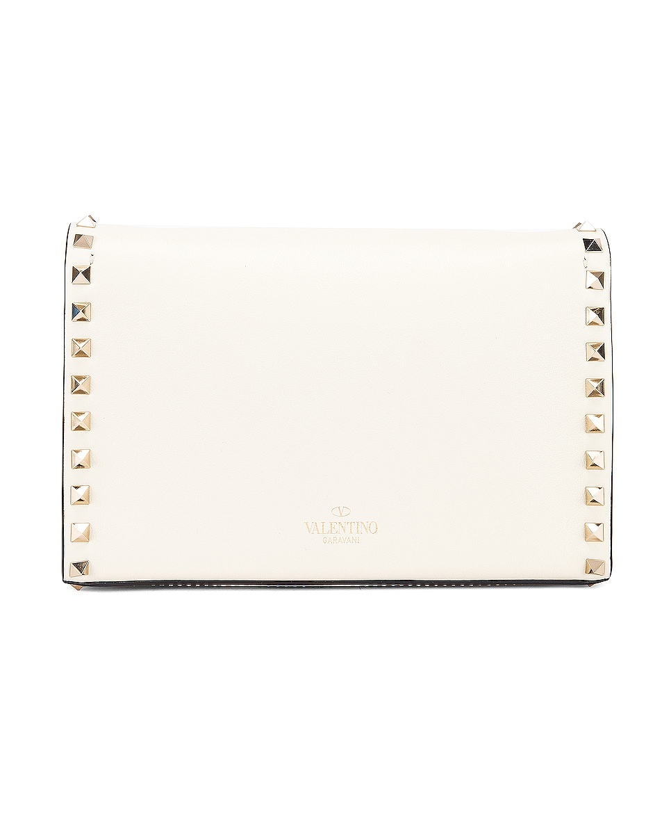 Image 3 of Valentino Rockstud Crossbody Bag in Light Ivory