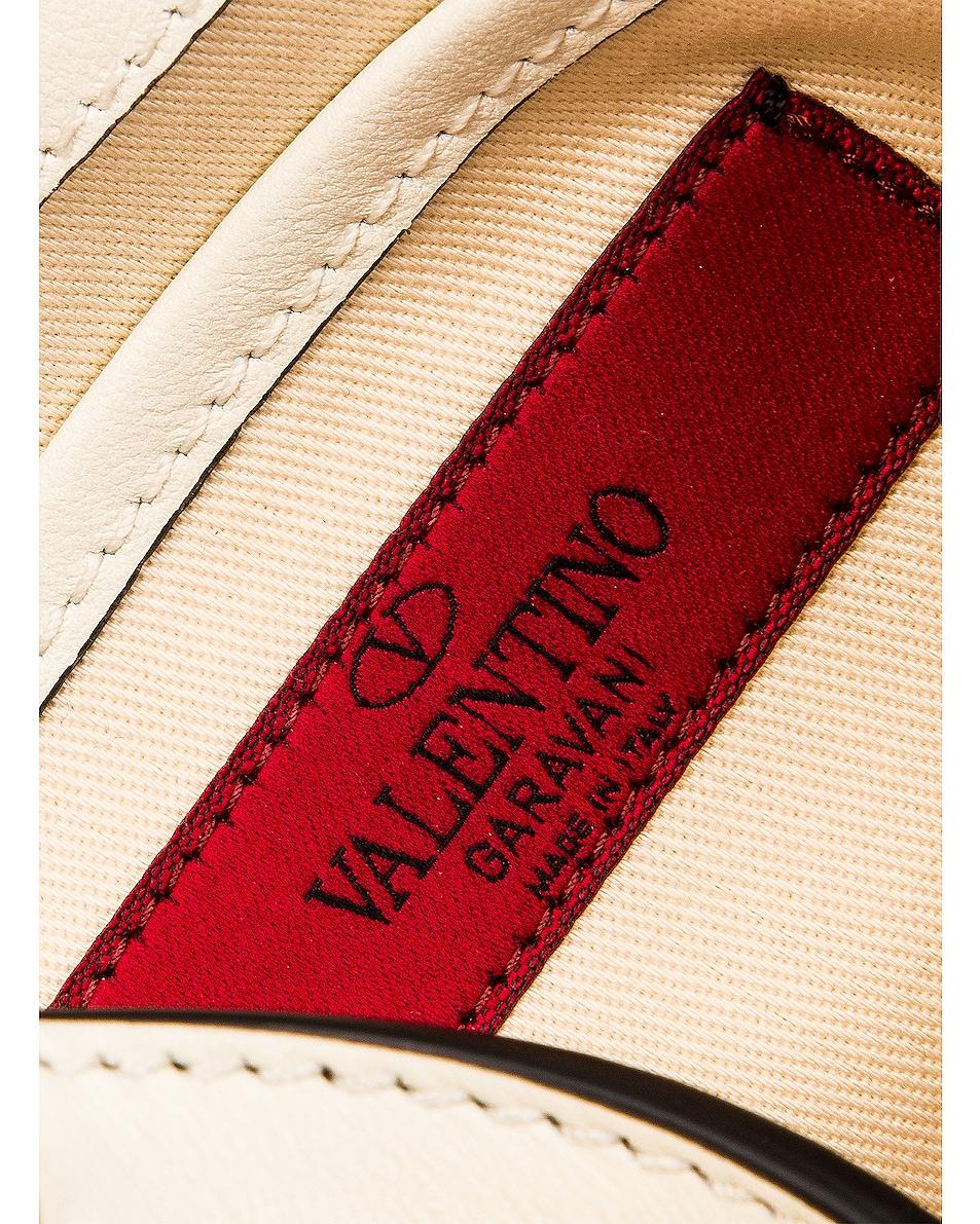 Image 7 of Valentino Rockstud Crossbody Bag in Light Ivory