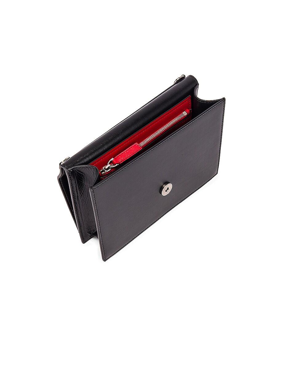 Image 5 of Valentino VRing Case Crossbody Bag in Black Diamond
