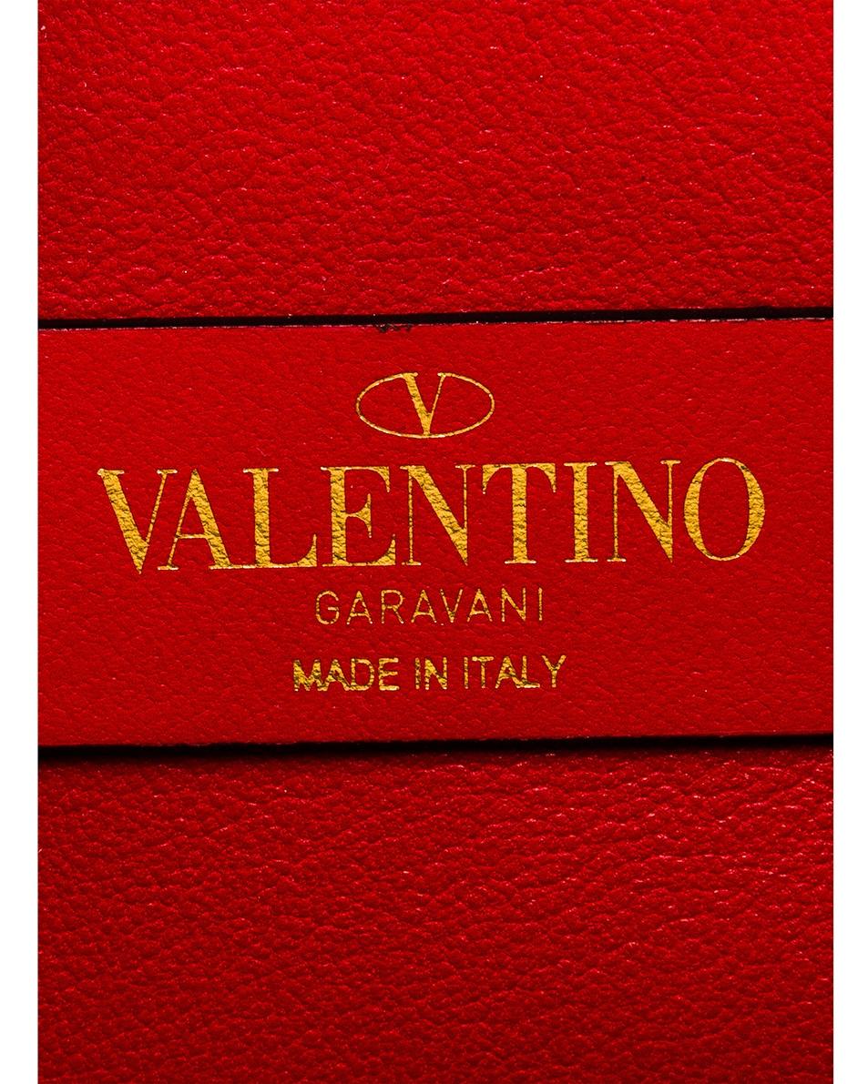 Image 7 of Valentino Small VSling Crossbody Bag in Bianco Ottico