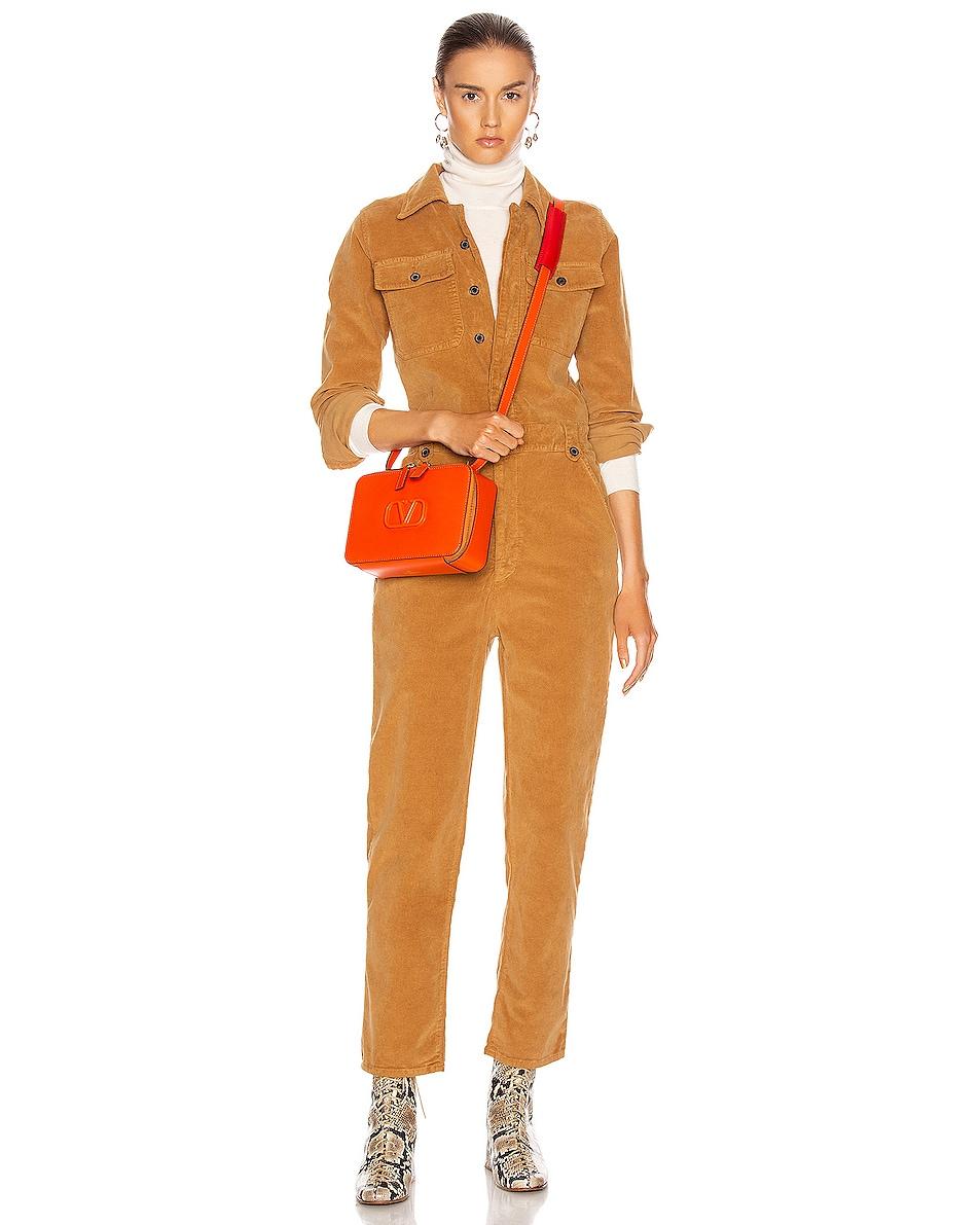 Image 2 of Valentino VSling Crossbody Bag in Goldfish