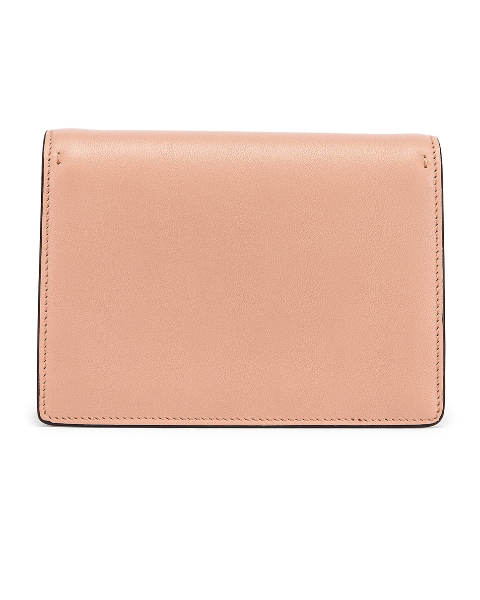 Image 2 of Valentino VRing Pouch in Rose Cannelle & Rouge Pur