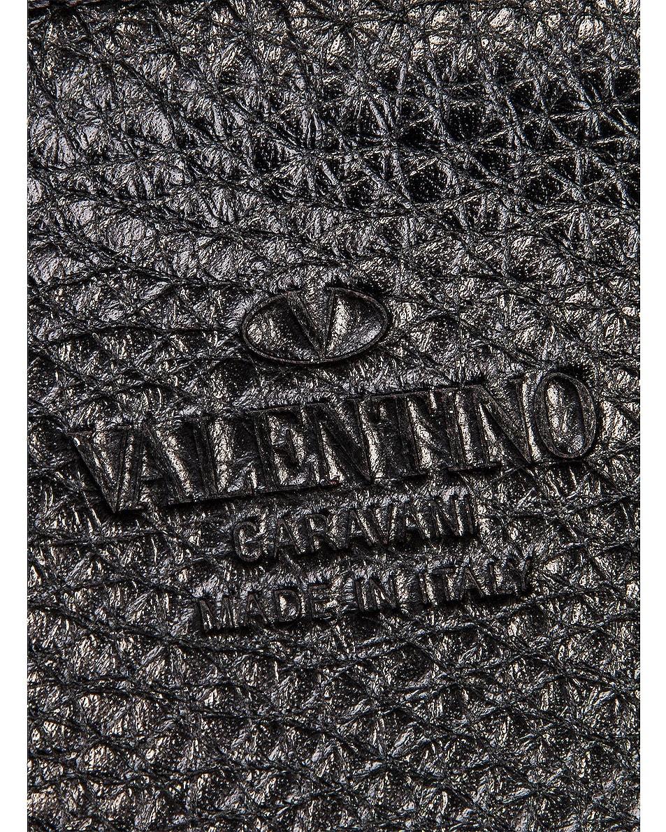 Image 7 of Valentino Rockstud Messenger Bag in Black