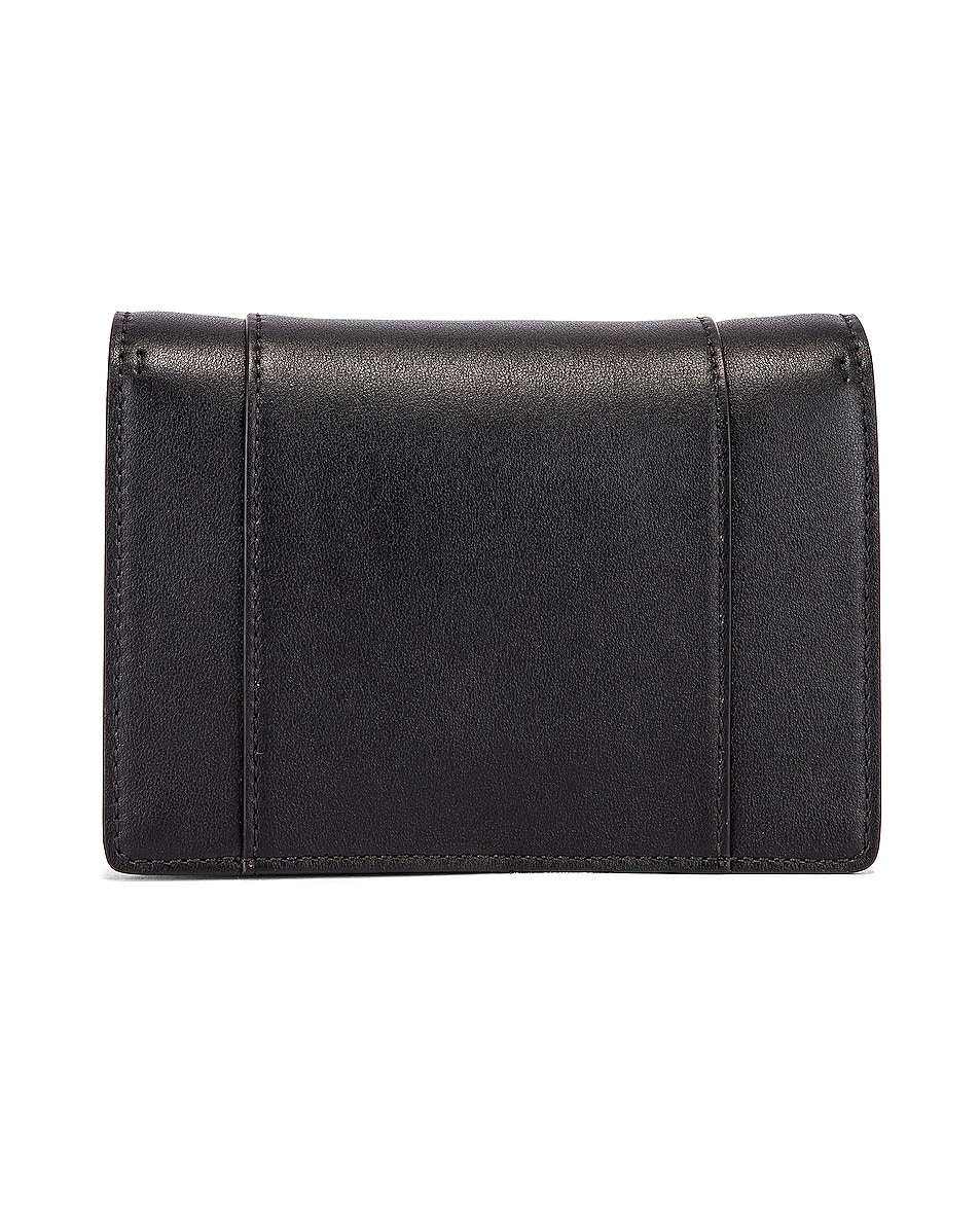 Image 3 of Valentino V Logo Crossbody Bag in Black