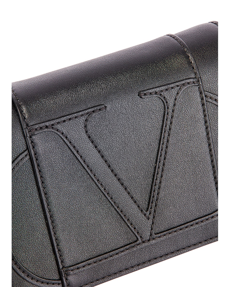 Image 8 of Valentino VLogo Crossbody Bag in Black