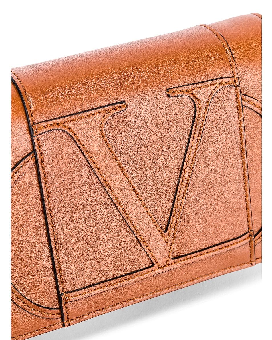Image 8 of Valentino VLogo Crossbody Bag in Selleria
