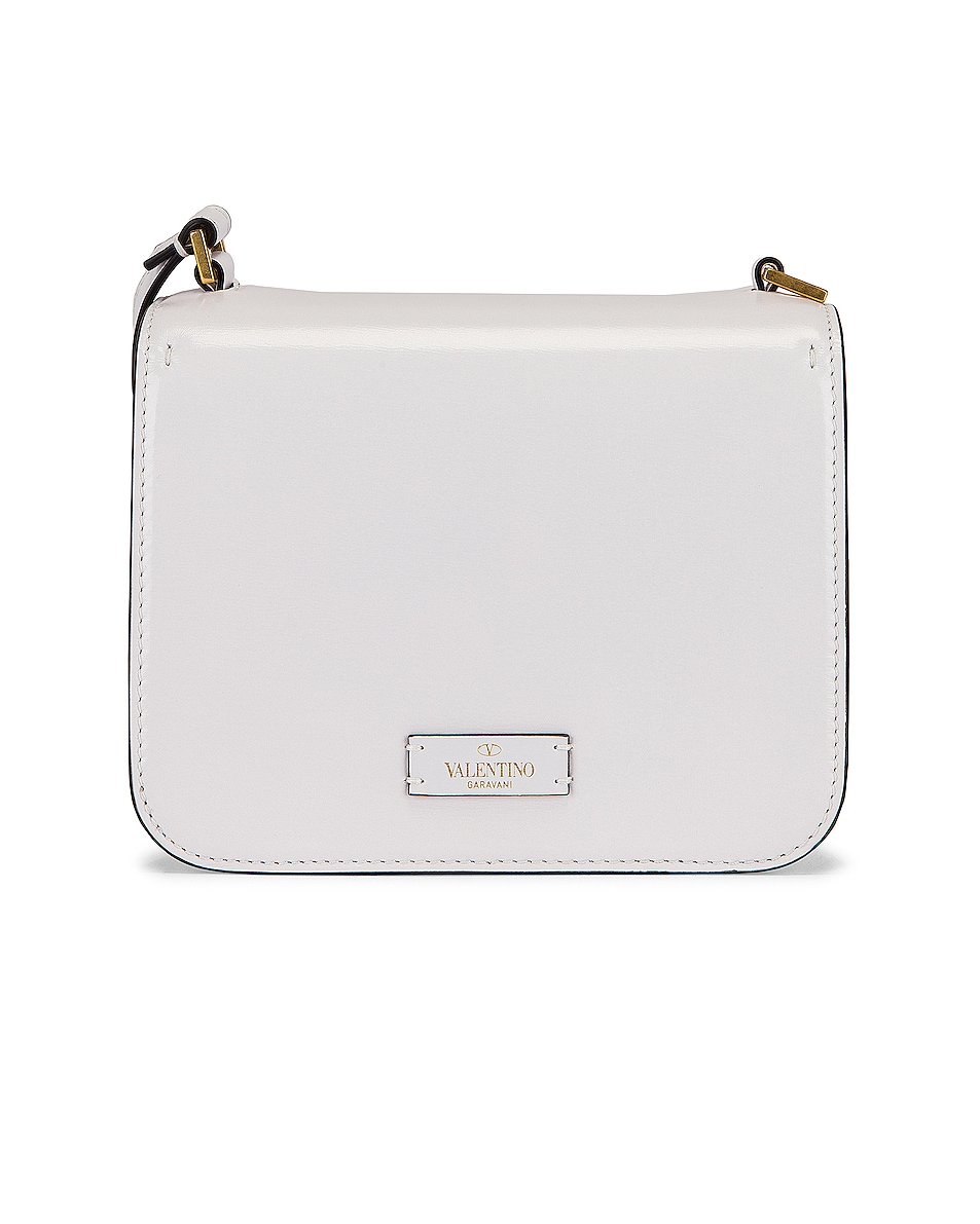 Image 3 of Valentino Small VSling Shoulder Bag in Bianco Ottico
