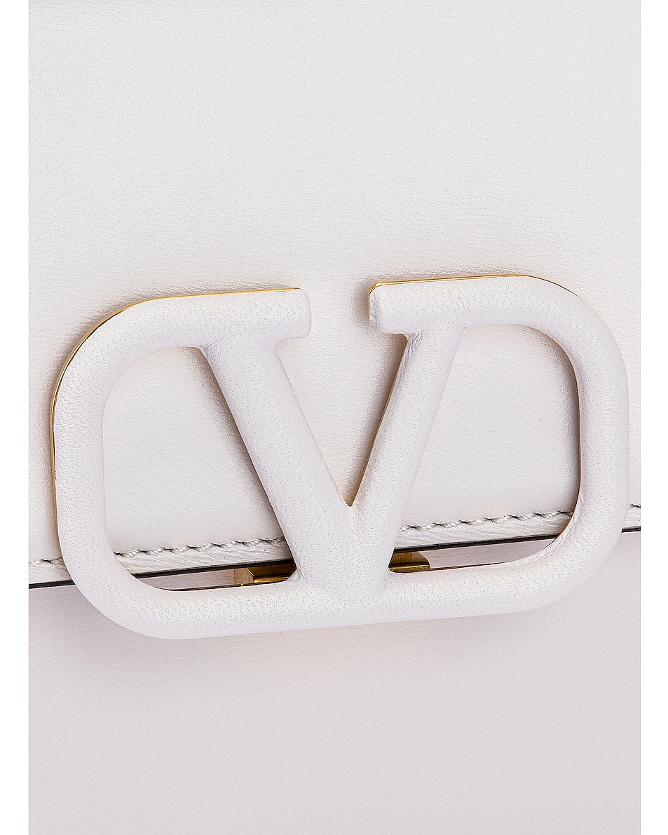 Image 8 of Valentino Small VSling Shoulder Bag in Bianco Ottico