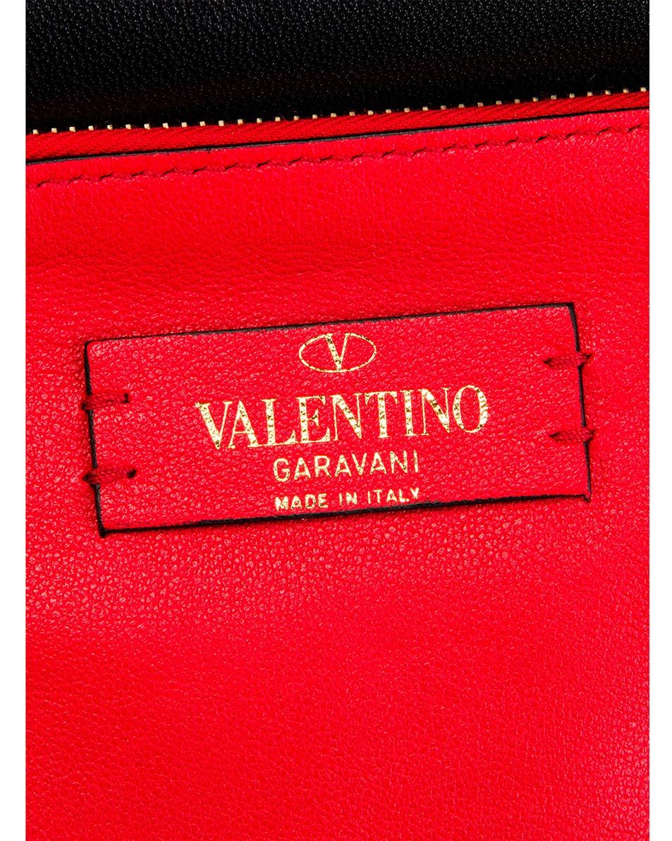 Image 7 of Valentino Rockstud Crossbody Camera Bag in Red