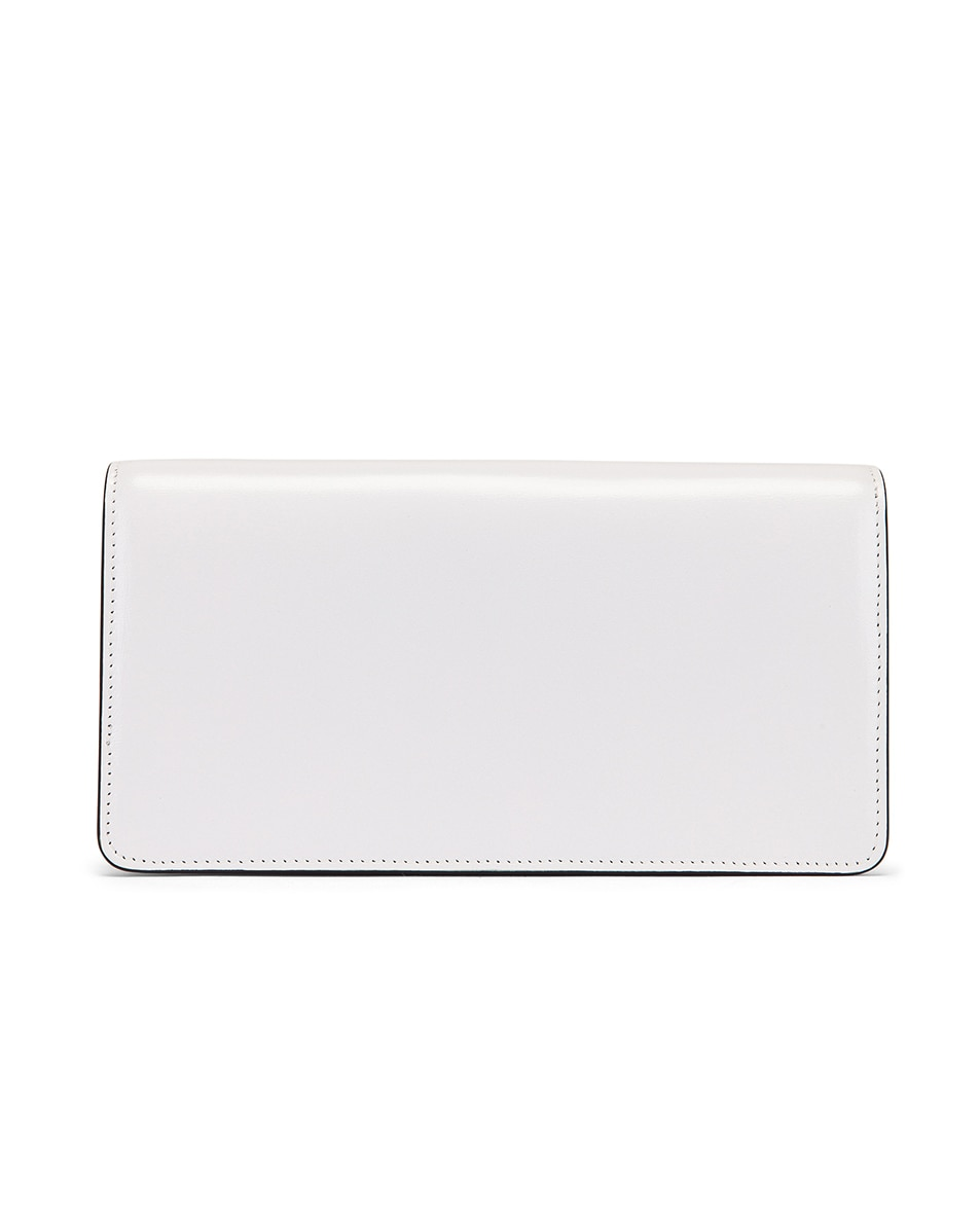 Image 3 of Valentino VSling Wallet on Chain Bag in Bianco Ottico