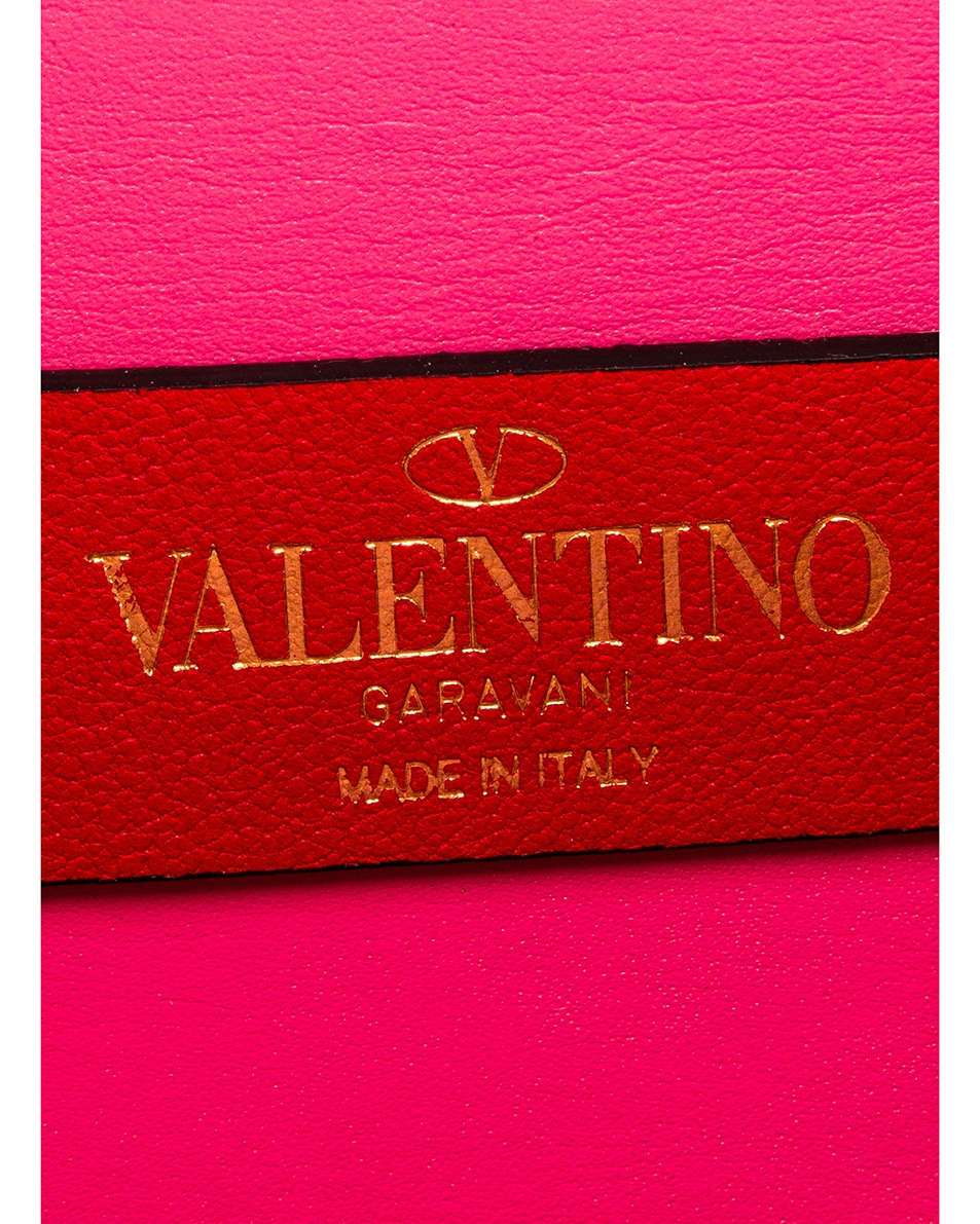 Image 7 of Valentino VSling Wallet on Chain Bag in Mac Rose