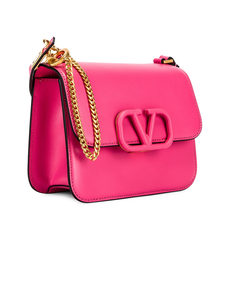 Image 3 of Valentino Small VSling Shoulder Bag in Mac Rose