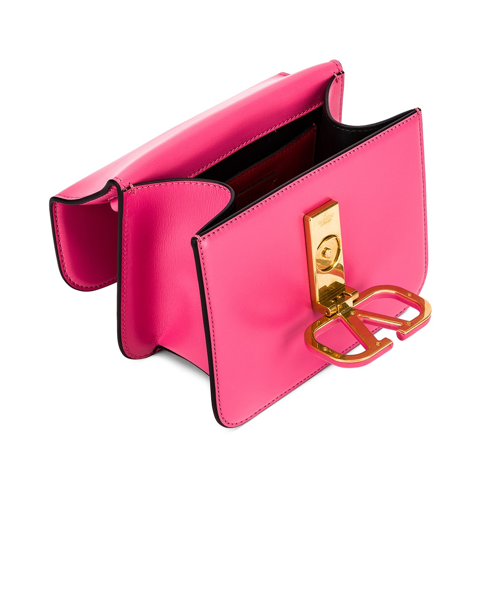 Image 4 of Valentino Small VSling Shoulder Bag in Mac Rose