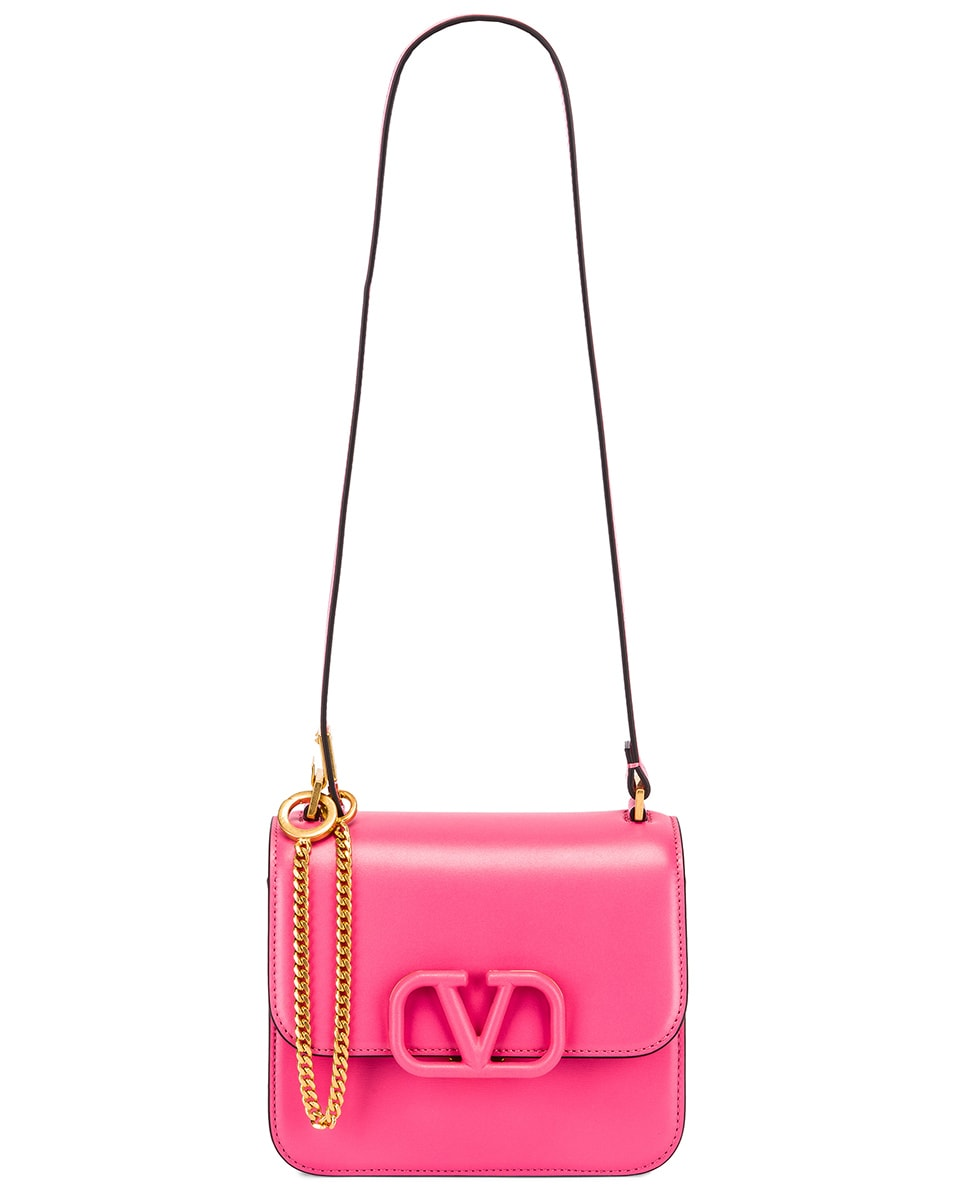 Image 5 of Valentino Small VSling Shoulder Bag in Mac Rose