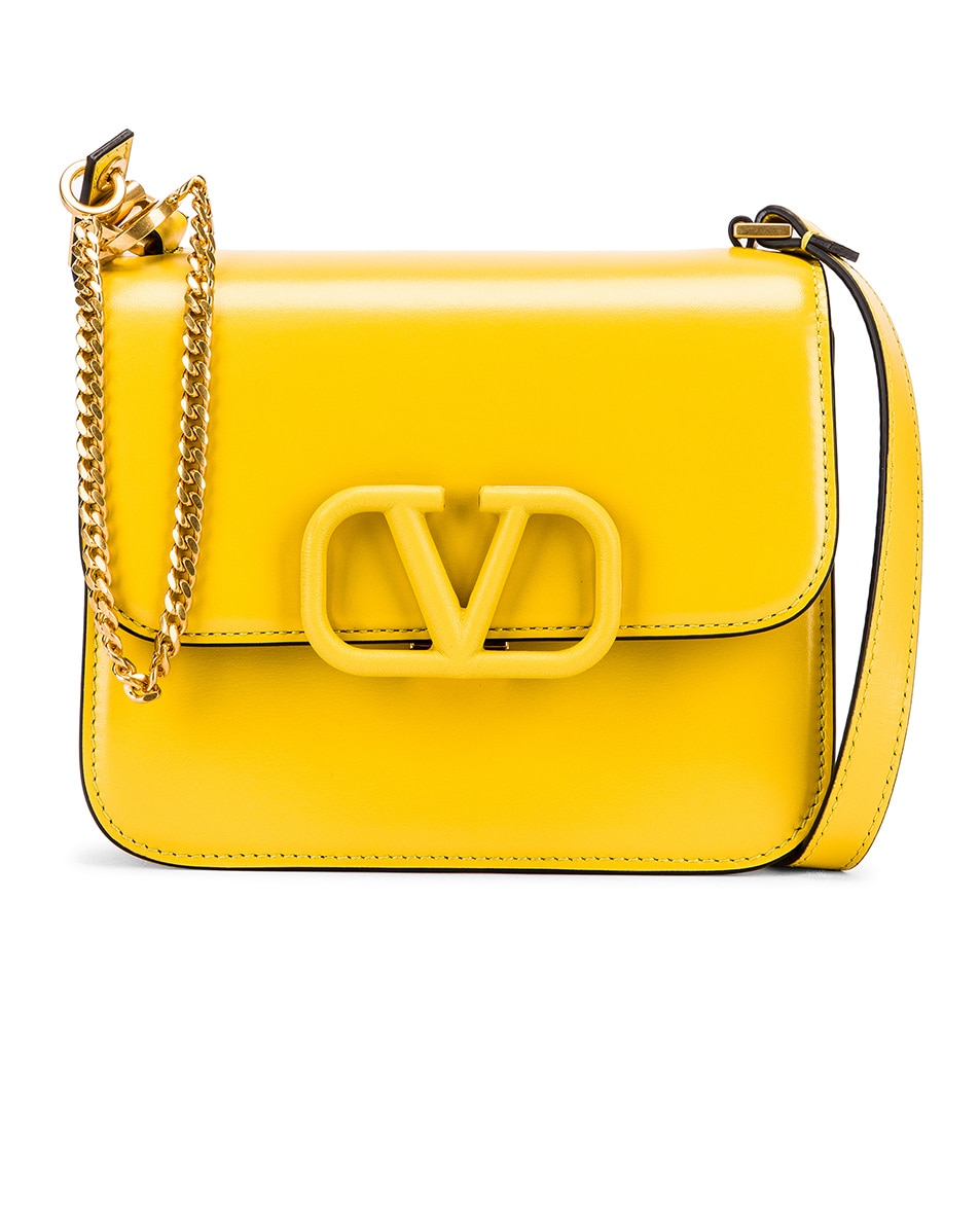 Image 1 of Valentino Small VSling Shoulder Bag in Tulip