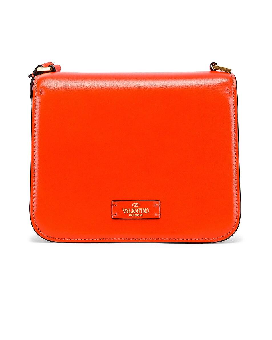 Image 3 of Valentino Small VSling Shoulder Bag in Goldfish