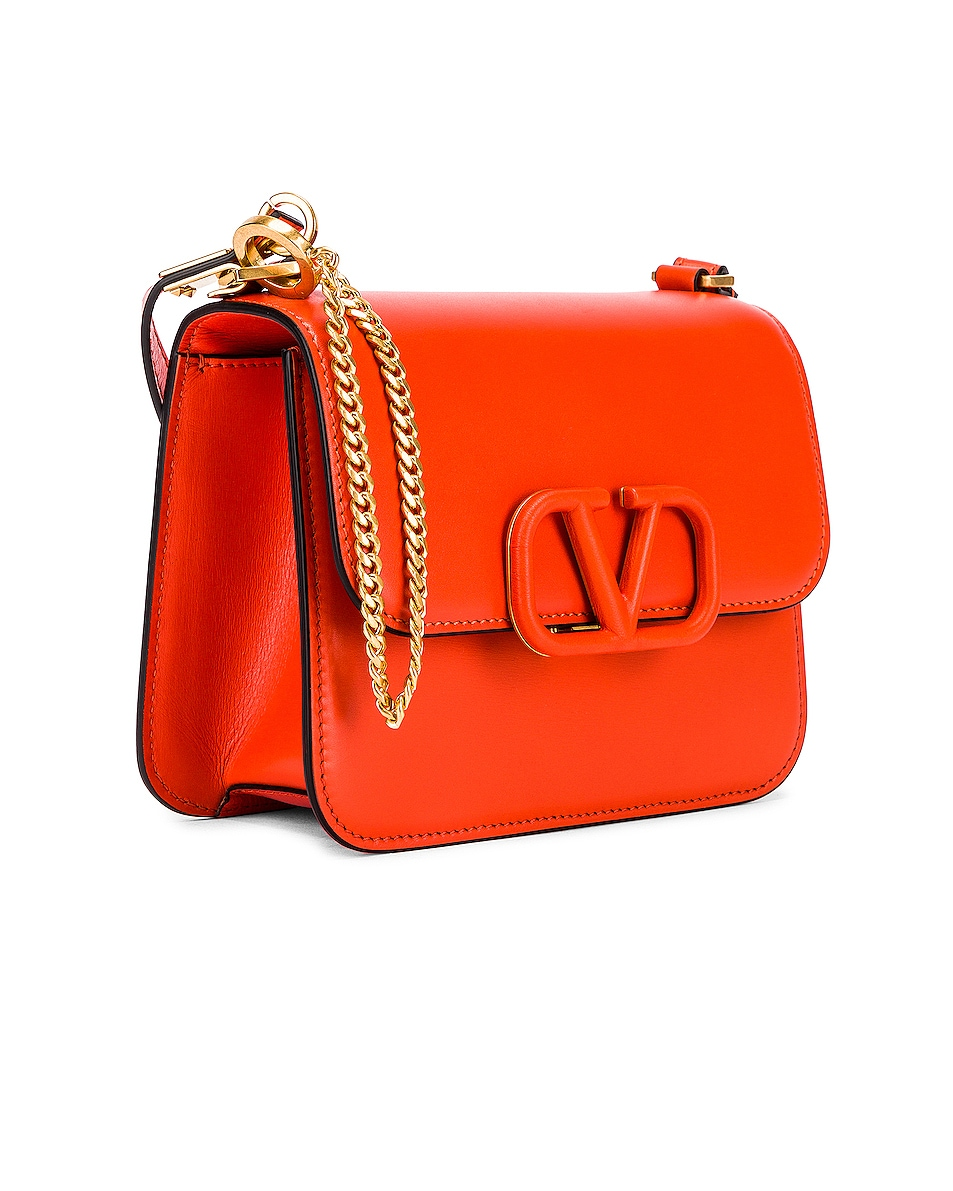 Image 4 of Valentino Small VSling Shoulder Bag in Goldfish