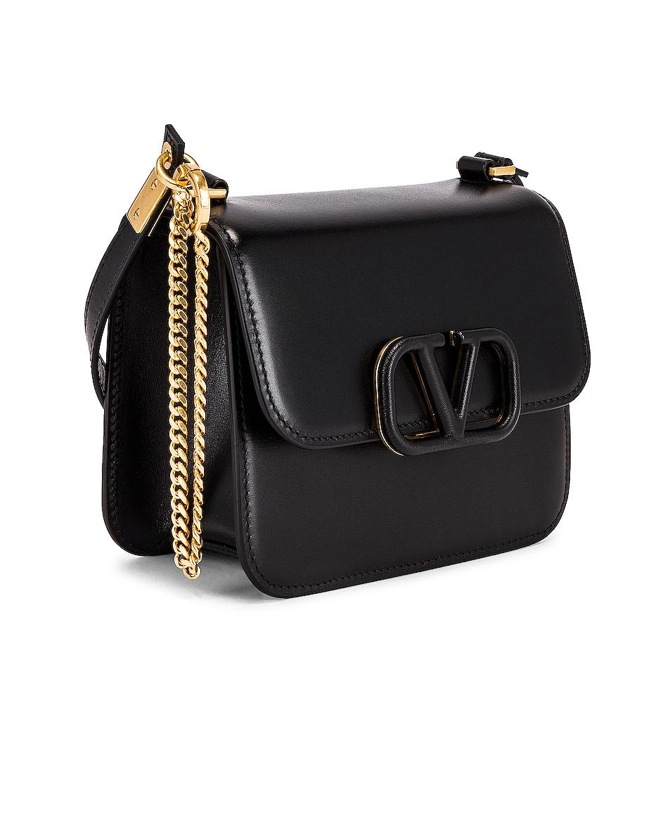 Image 4 of Valentino Small VSling Shoulder Bag in Black