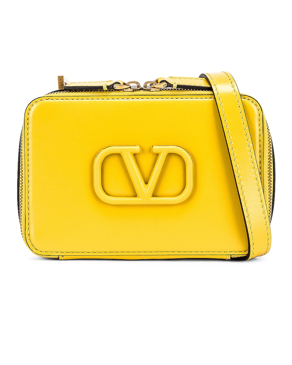 Image 1 of Valentino Small VSling Crossbody Bag in Tulip