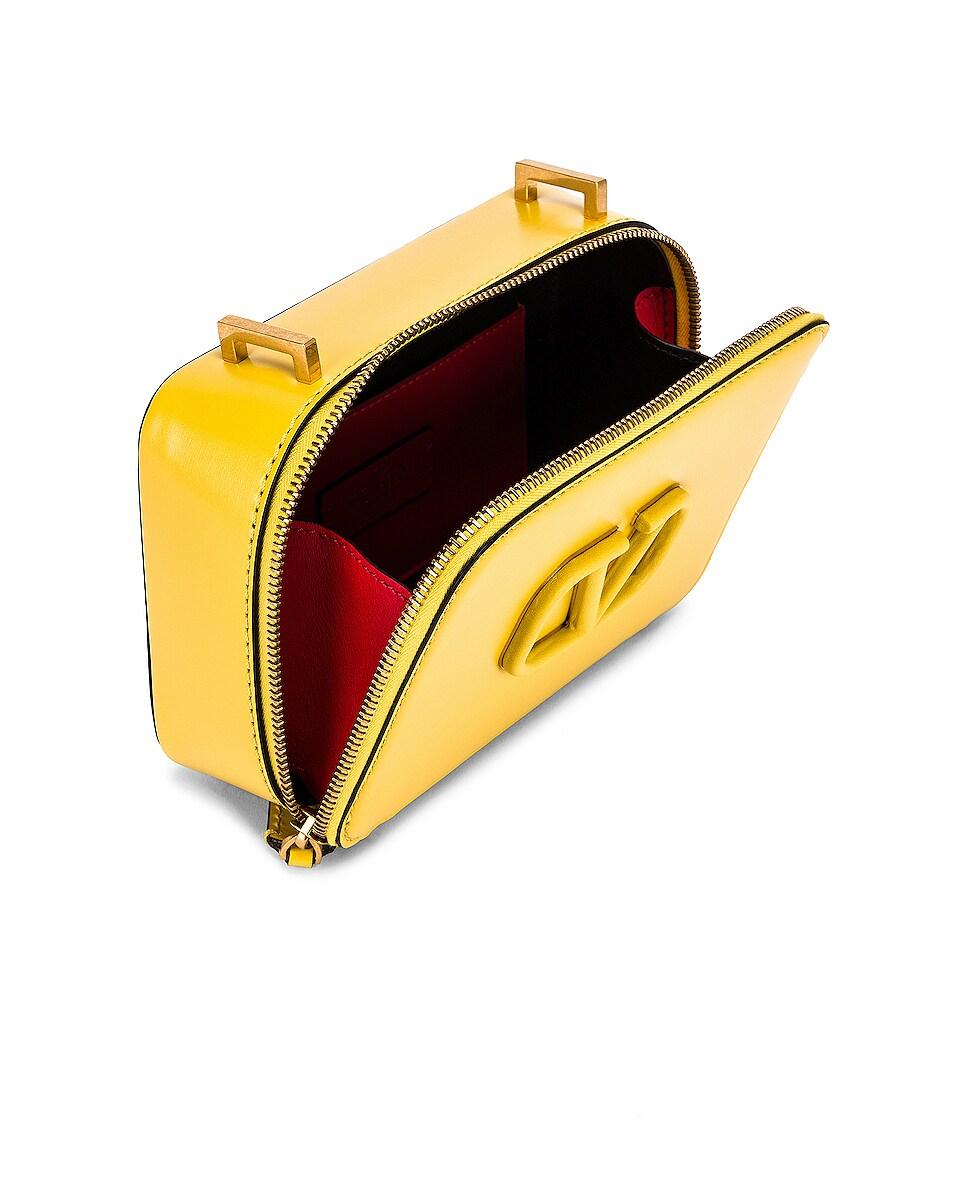 Image 5 of Valentino Small VSling Crossbody Bag in Tulip