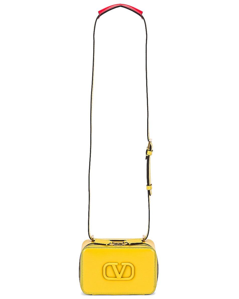 Image 6 of Valentino Small VSling Crossbody Bag in Tulip