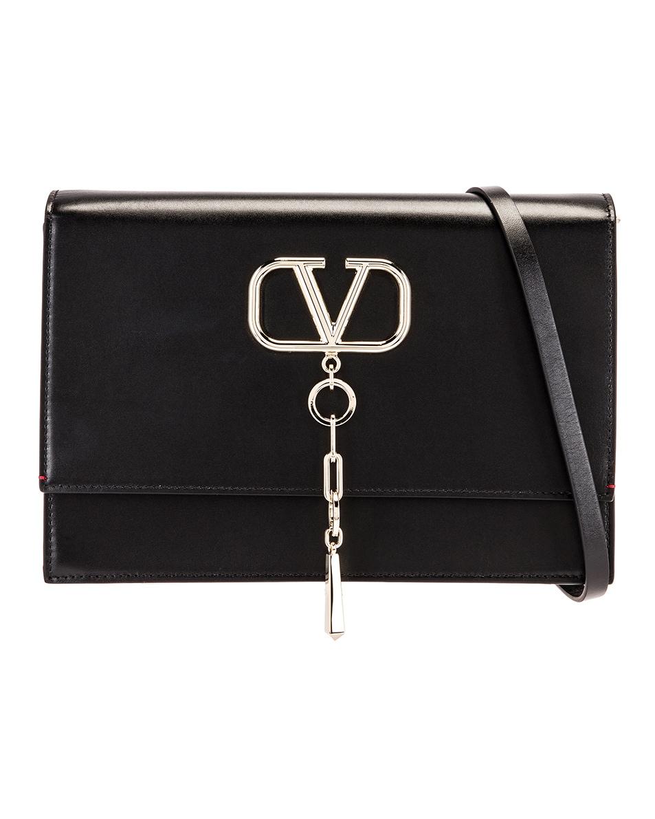 Image 1 of Valentino VCase Shoulder Bag in Black