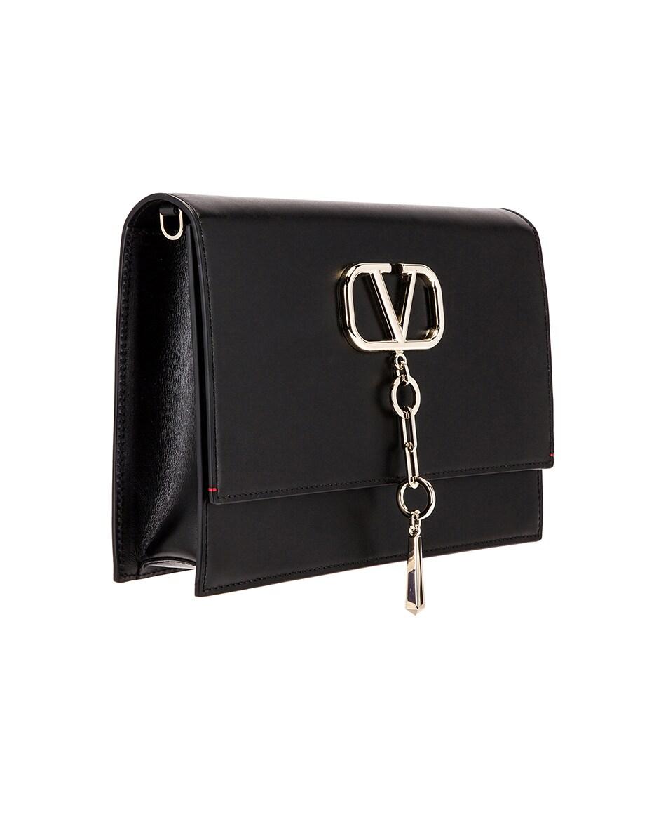 Image 4 of Valentino VCase Shoulder Bag in Black