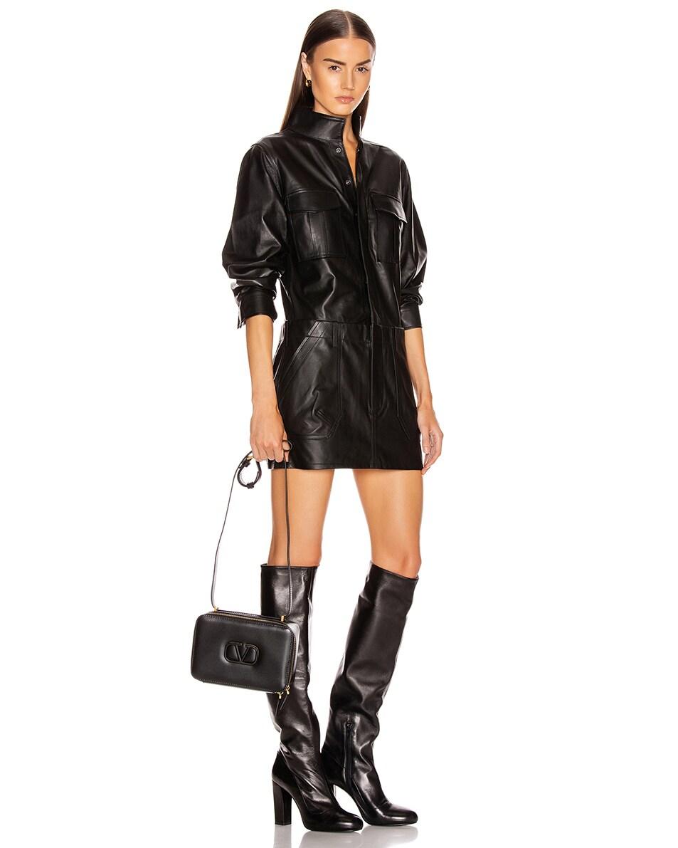 Image 2 of Valentino VSling Crossbody Bag in Black