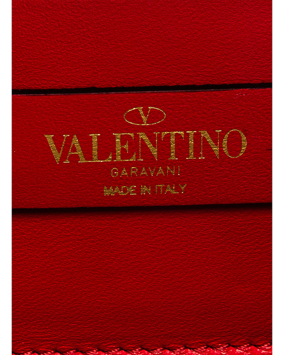 Image 7 of Valentino Small VSling Crossbody Bag in Rouge Pur