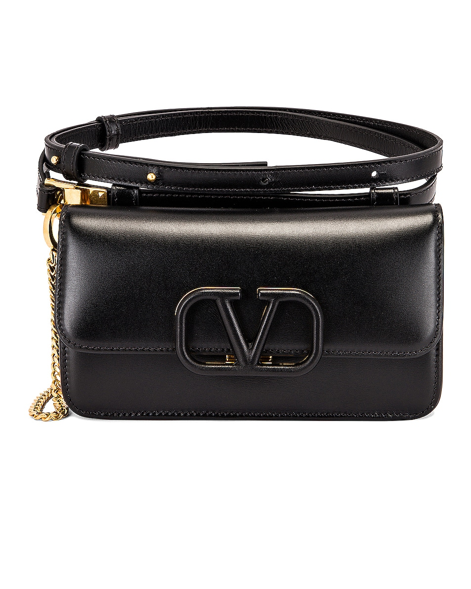 Image 1 of Valentino VSling Belt Bag in Black