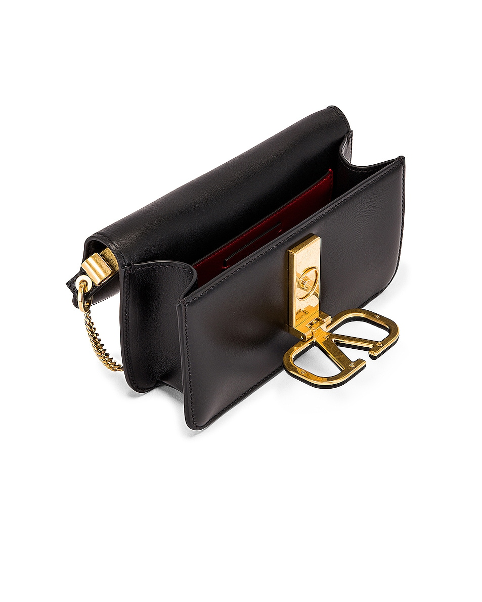 Image 5 of Valentino VSling Belt Bag in Black