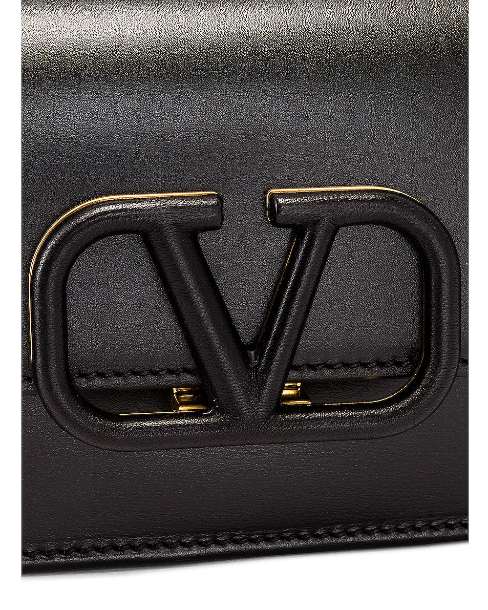 Image 7 of Valentino VSling Belt Bag in Black