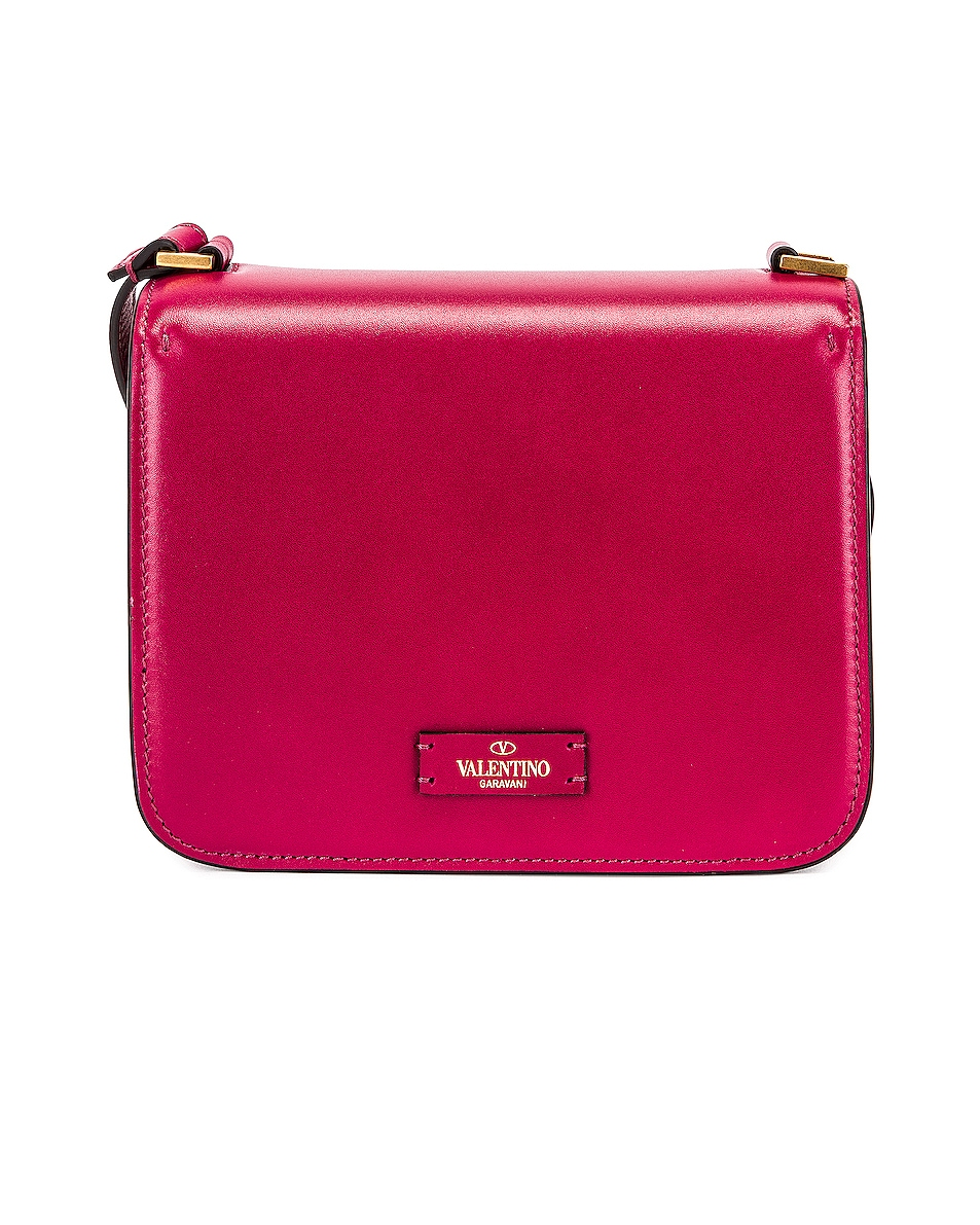 Image 3 of Valentino Small Sling Shoulder Bag in Raspberry Pink