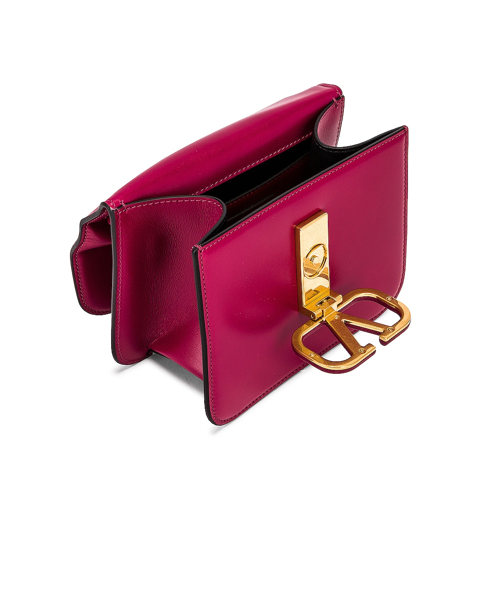 Image 5 of Valentino Small Sling Shoulder Bag in Raspberry Pink