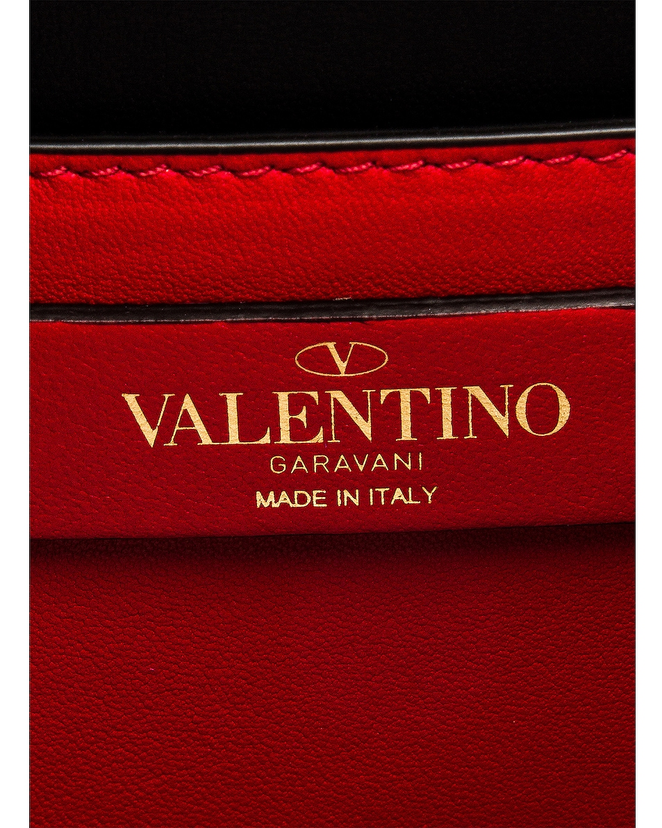 Image 7 of Valentino Small Sling Shoulder Bag in Raspberry Pink