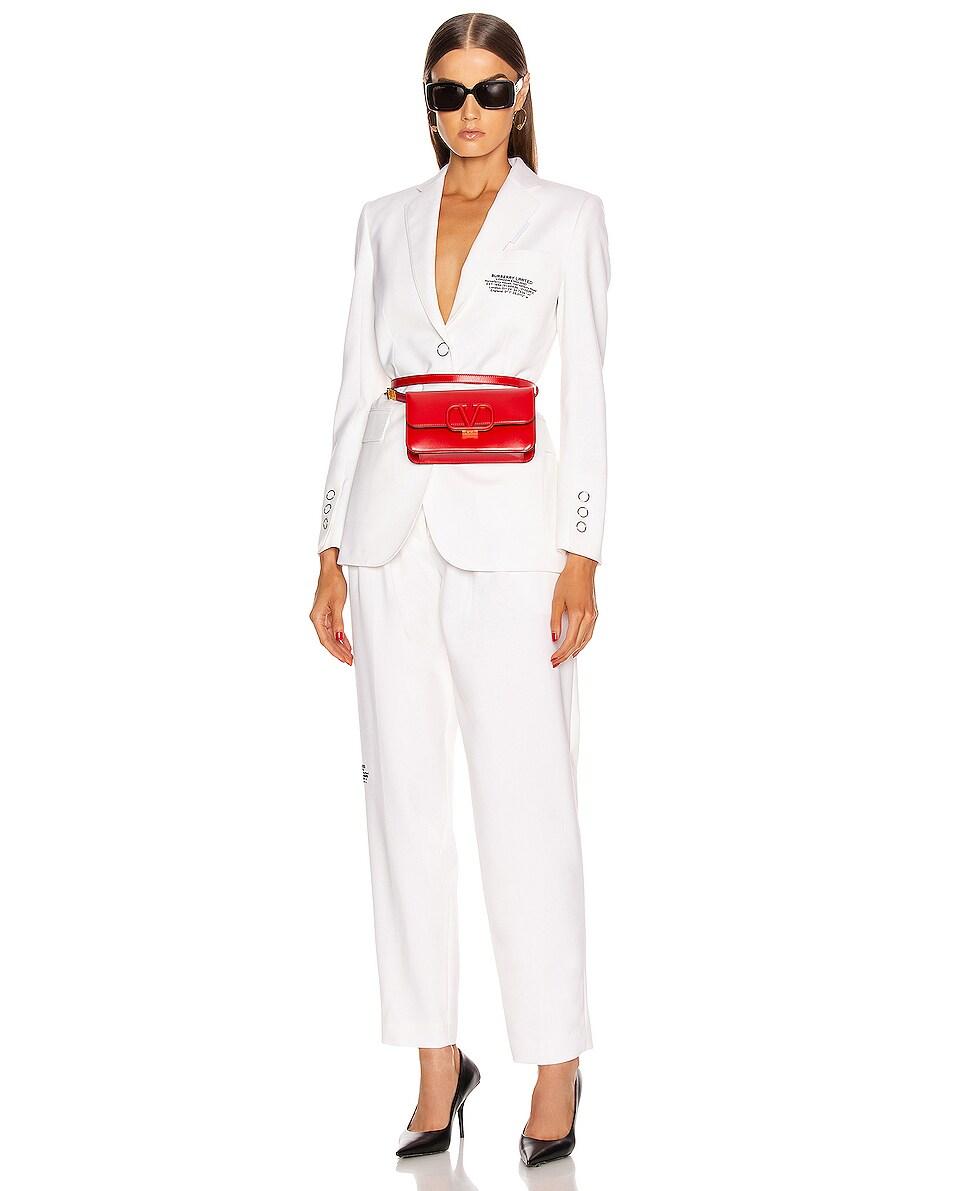 Image 2 of Valentino VSling Belt Bag in Red