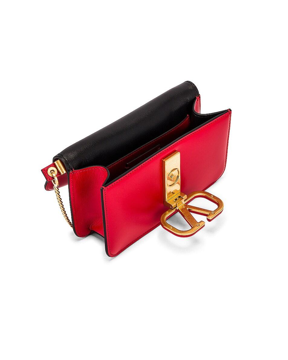 Image 5 of Valentino VSling Belt Bag in Red
