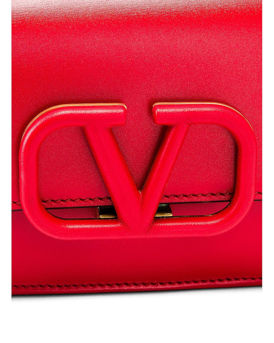 Image 7 of Valentino VSling Belt Bag in Red